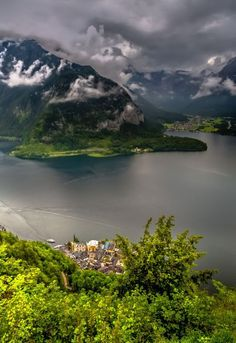 Hallstatt, Pearl of Salzkammergut, Austria Places Around The World, The Places Youll Go, Places To See, Around The Worlds, Austria Travel, Voyage Europe, Wonders Of The World, Places To Travel, Landscape Photography