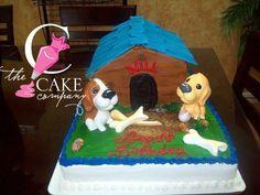 Dog House cake