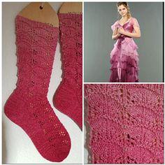 Ravelry: Yule Ball Socks pattern by Margret Brakenhoff