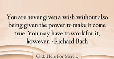 Richard Bach Quotes About Power - 56678