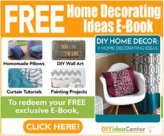 With DIY Home Decor 9 Home Decorating Ideas, you will be able to craft a homemade pillow or piece of DIY wall art that fits with any sense of style. If you are someone who loves to make your space your own, this is the eBook for you. Homemade Pillows, Diy Pillows, Home Design, Curtain Tutorial, Freebies By Mail, Fall Projects, Personalized Books, Cleaners Homemade, Diy Cleaning Products