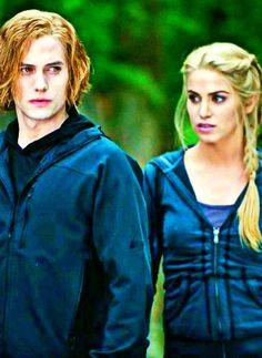 Jasper and Rosalie in Eclipse