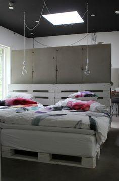 idea para una cama con poco presupuesto