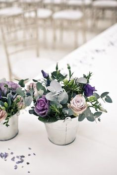 Love this soft and delicate bouquet.  The pale green eucalyptus is just right.