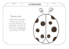 Trabajando en Educación Infantil: 10 poesías de la primavera para colorear Numicon, App, Signs, Spring, Curiosity, Mario, Victoria, Chocolate, Google
