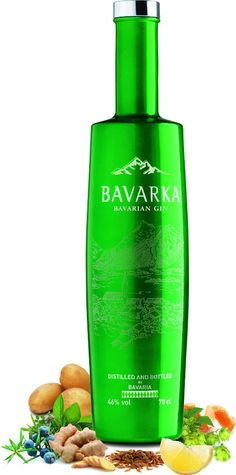 Bavarka Gin Premium Gin, Alcohol Bottles, Liquor Bottles, Whisky, Gins Of The World, London Gin, Gin Brands, Rum Bottle, Jars