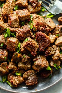 Garlic Butter Steak Bites - All the Healthy Things