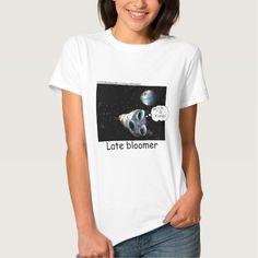 Womens #Cartoon #tees Not-So-Smart #Astronaut by @LTCartoons #zazzle #sale #gift #space #nasa #apollo #humor @pinterest