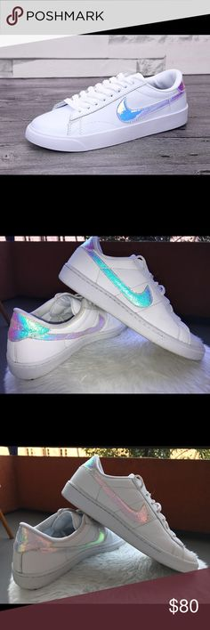 Nike Tennis hologram Nike Women's Classic Sneakers Beautiful Autumn 2016 style classic leathe tennis shoes. Box included Nike Shoes Athletic Shoes