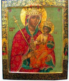 Cinstirea Icoanei Maicii Domnului din Galata | Doxologia Religious Images, Religious Icons, Religious Art, Byzantine Icons, Byzantine Art, Christian Artwork, Russian Icons, Religious Paintings, Madonna And Child