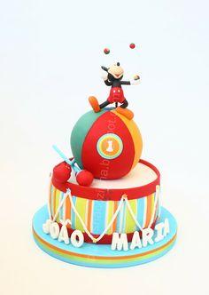 Pirikos Cake Design: O Mickey Malabarista