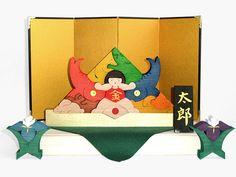 五月人形Dセット 木のおもちゃ杢・MOKU