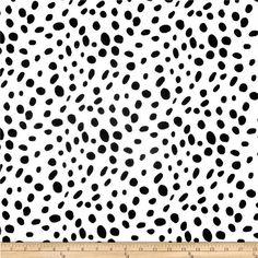 Dalmatian Print Fabric, Premier Prints Togo White Black Home Decor Fabric, Black and White Spots Fab Black Pillow Covers, Black Pillows, Duvet Covers, To Go, Ironing Board Covers, Black And White Fabric, Black White, Premier Prints, Monochrome