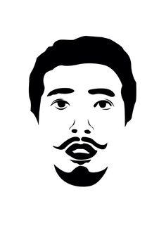 2D of my face #DIY