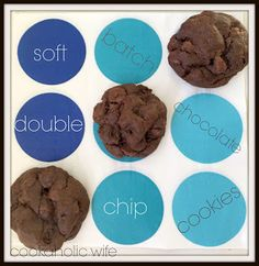 Cookaholic Wife: Soft Batch Double Chocolate Cookies - #Choctoberfest with Imperial Sugar