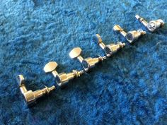 6 Inline Fender Squire Strat Tuning Machines - Guitar Parts Project - Free Ship! #Fender