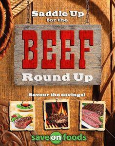 Save On Foods Beef Round, Save On Foods, Meet