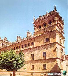 Palacio de Monterrey (Salamanca) España.