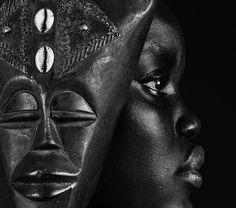 Profile. a girl from Sudan. © Marta Azevedo