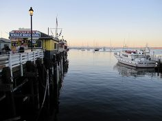 MONTEREY, CA. Been there a few times and it's such a peaceful, quiet place. :)