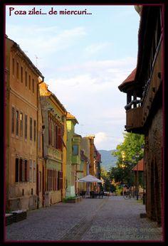 Case colorate, Sibiu