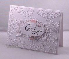 maybe xmas 2011 card...add large snowflake