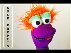 Lamb or Sheep Sock Puppet - View it and Do it Craft! #2 - YouTube