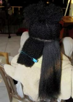 """#NaturalHair Shrinkage is sooo real!     A reminder that Black women don't have """"short hair"""" that girl rocking the big fro might have hair down to her butt if it was straight. Black women most certainly can grow hair."""