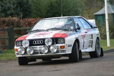 Audi Quattro Group B Rally Car, there's one at the Audi museum in Ingolstadt