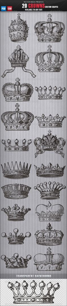 20 Crowns - Custom Shapes THOUGHT THIS WAS COOL: