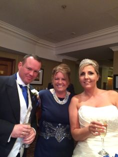 My fab brother Ste, fab sister fran and fab sister-inlaw claire.xx