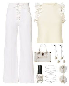 """""""super chic"""" by im-karla-with-a-k on Polyvore featuring A.L.C., 3.1 Phillip Lim, OPI, Accessorize, Louis Vuitton and Pink Box"""