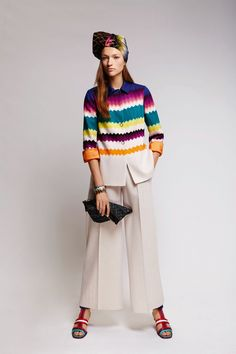 Bring on the color #missoni #resort2016