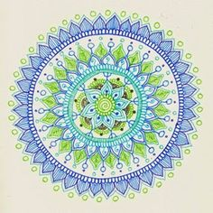 Very nice Mehndi Inspired Mandala Tutorial by Maria Mercedes Trujillo. I really enjoy her many art projects. Great inspiration.