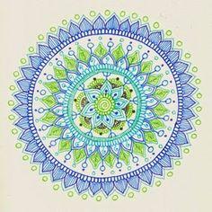 Very nice Mehndi Inspired Mandala Tutorial by Maria Mercedes Trujillo. I really enjoy her many art projects. Great inspiration.