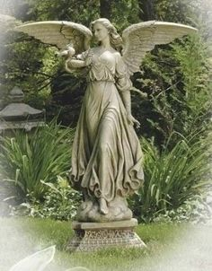 Garden Angel - but none as pretty as Vicki's!