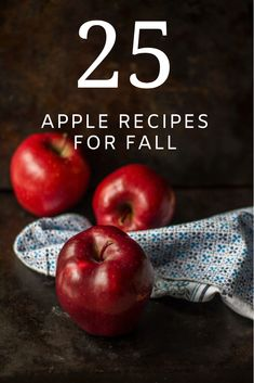 Check out the apple recipes in the post and enjoy the deliciousness of eating a sliced apple or add apples to breads, desserts and even savory dishes. Apple Recipes, Fall Recipes, Easy Dinner Recipes, Sweet Recipes, Dishes Recipes, Cocktail Desserts, Fall Desserts, Delicious Deserts, Yummy Food