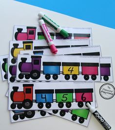 This Kindergarten Math Unit 1 Set includes 25 Number Worksheets and 15 Math Centers. Simplify your lesson planning with these fun, hands on activities. Kindergarten Math Activities, Kindergarten Classroom, Math Resources, Math Games, Number Games, Back To School Worksheets, Number Worksheets, Uno Cards, Hands On Activities