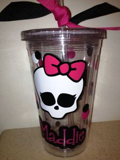 monster high straw - Google Search