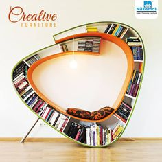 This is indeed a treat for the book lovers! #CreativeFurnitureAroundTheWorld