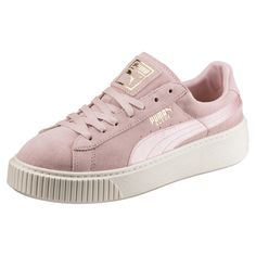 c0e2b766211ad1 Suede Platform Satin Women s Trainers Shoe Basket