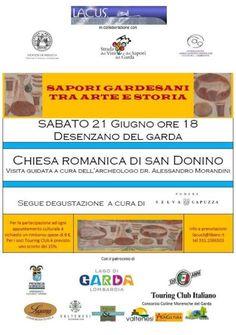 Desenzano del Garda: visita guidata alla Chiesa Romanica a cura dell'archeologo Alessandro Morandini @GardaConcierge