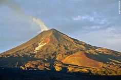 Llaima Volcano in El Conguillío National Park, Chile