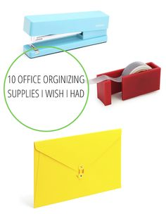 10 Office Organizing Supplies I Wish I Had | Babble