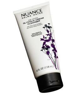 """Nuance Salma Hayek Age Affirm Glycolic Cream Cleanser, $12.99. """"I'm obsessed with this and use it every day,"""" Falik gushed about this scrub. Alexiades-Armenakas added, """"It has great exfoliants, but the creamy base helps make it gentle."""" Sam Kaplan  - Redbook.com"""
