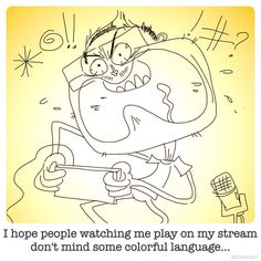 By gabeswarr: @?!# #sketchblab #twitch #retrogaming #nintendo #igetsalty #retrogaming #microhobbit