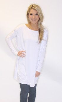 Piko Tunic! The top that looks good on every body! Wear as a top, with leggings as a tunic, or as a dress! $32 on www.shopriffraff.com/piko