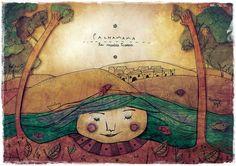 Pachamama ♥  Hay gente que mira la tierra, y ve tierra nomás.    Atahualpa Yupanqui