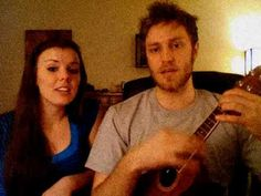 Tonight you belong to me. Aw, they are presh! I love the ukulele.