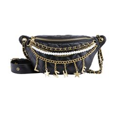 Brand Slut Moonbag Black – THE LOT V&a Waterfront, Dont Cry, Get Over It, Fashion Accessories, Belt, Chain, Leather, Stuff To Buy, Black